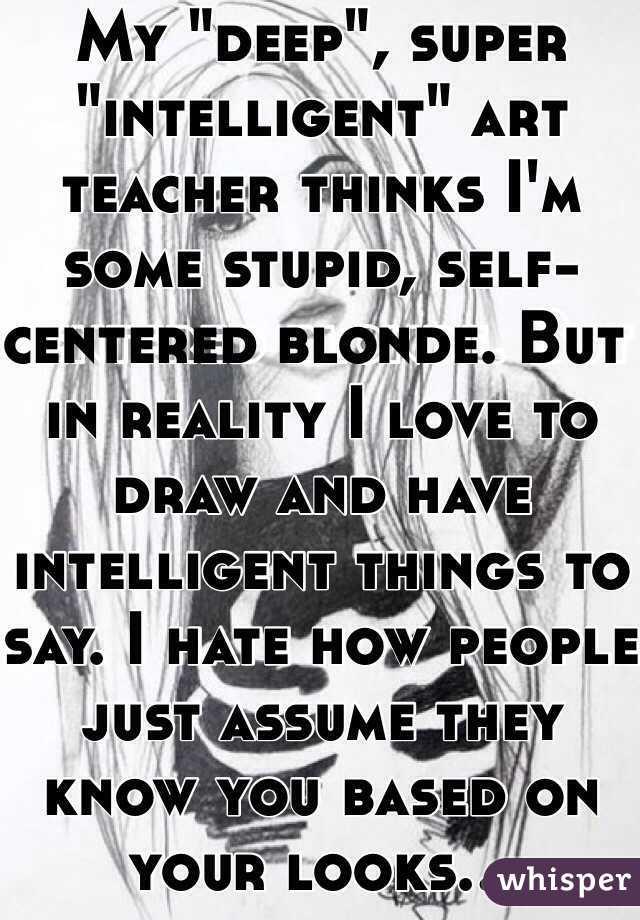 My Deep Super Intelligent Art Teacher Thinks I M Some