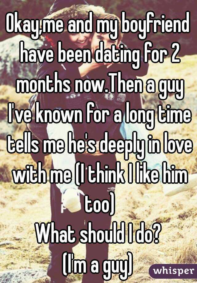 Dating 2 months not exclusive