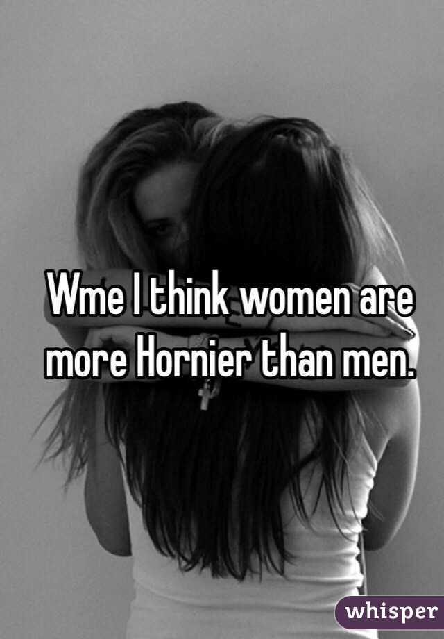 Why Are Men Hornier Than Women