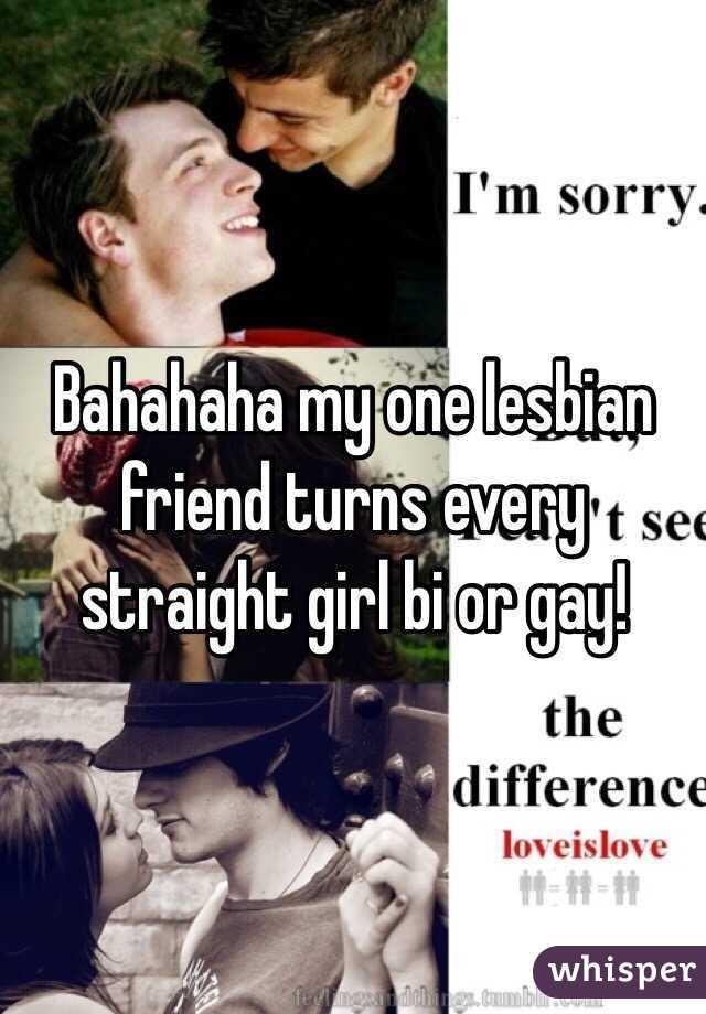 Lesbian Turns Straight Girl Gay