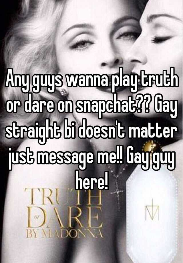 Straight guys play truth or dare