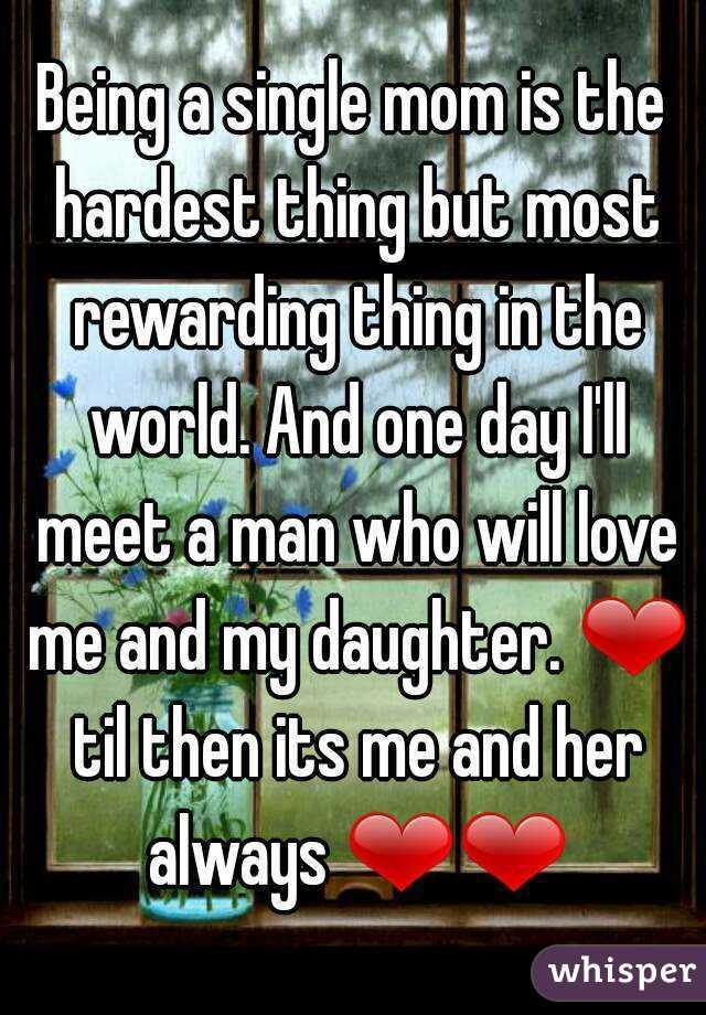 How to meet a man single mom