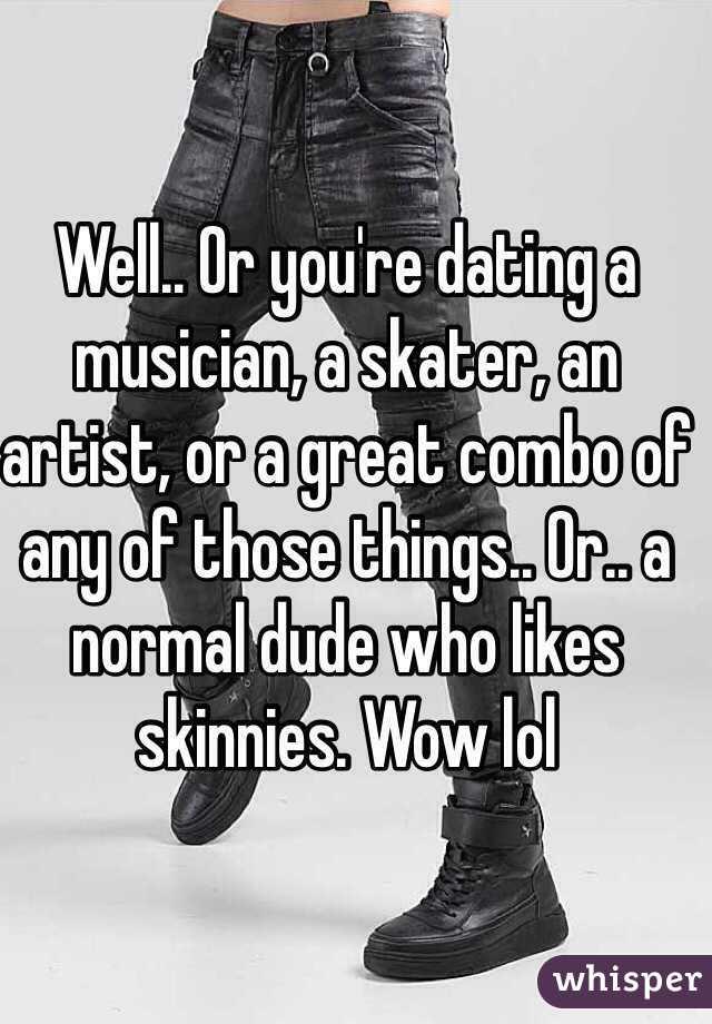 dating a skater