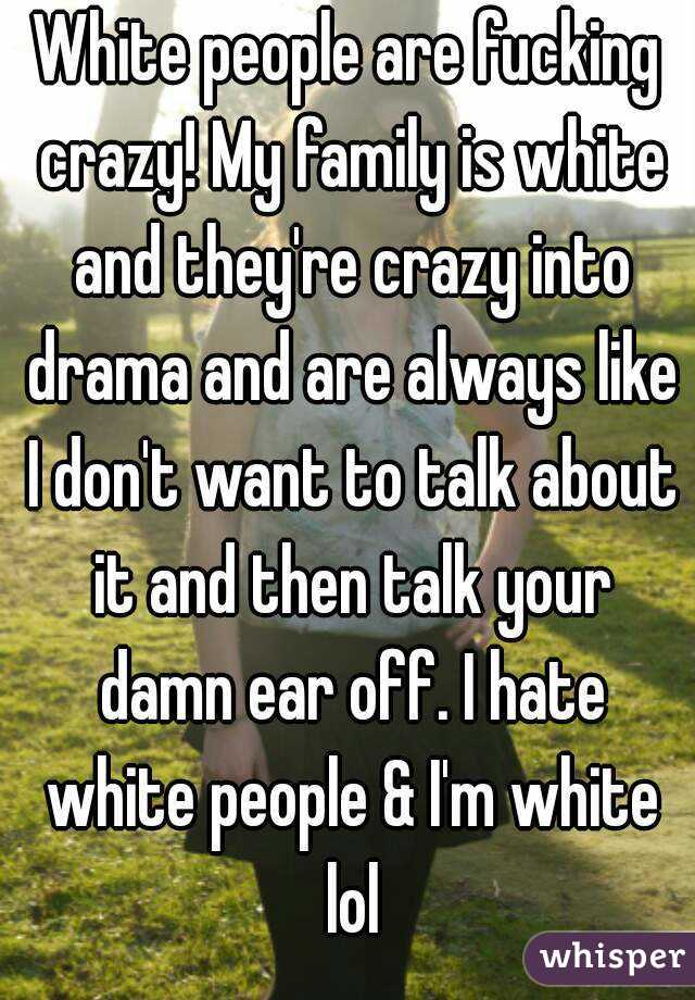 Who wants to play fuck the white man