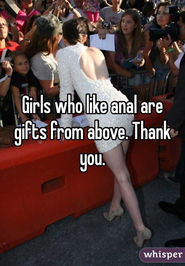 Девочки анал