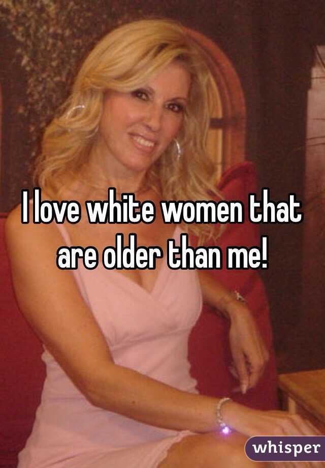 White women love