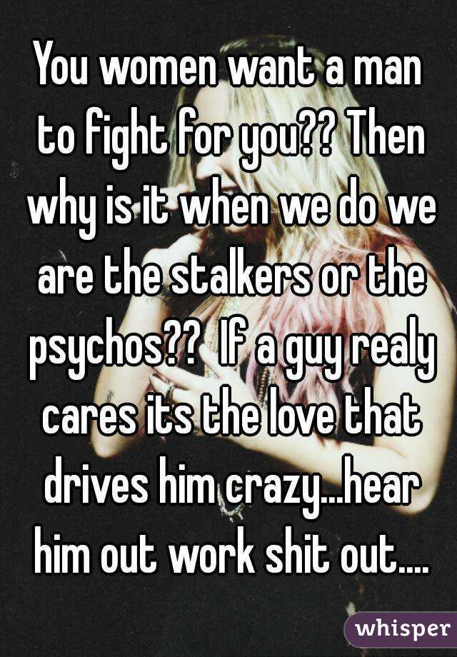 what drives a guy crazy