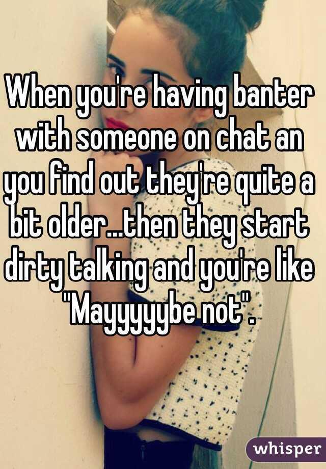 Banter chat