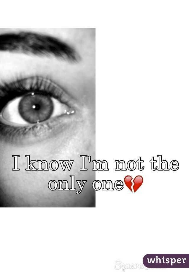 I know I'm not the only one💔