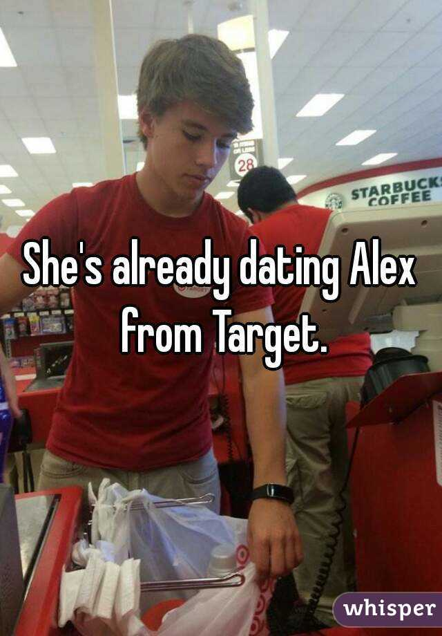 Who is alex from target dating site