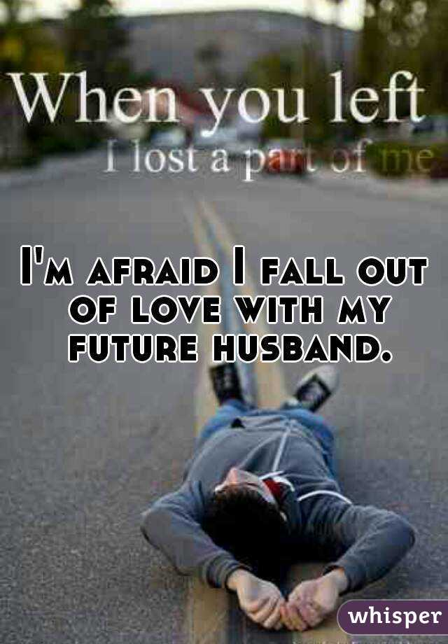 why husbands fall out of love