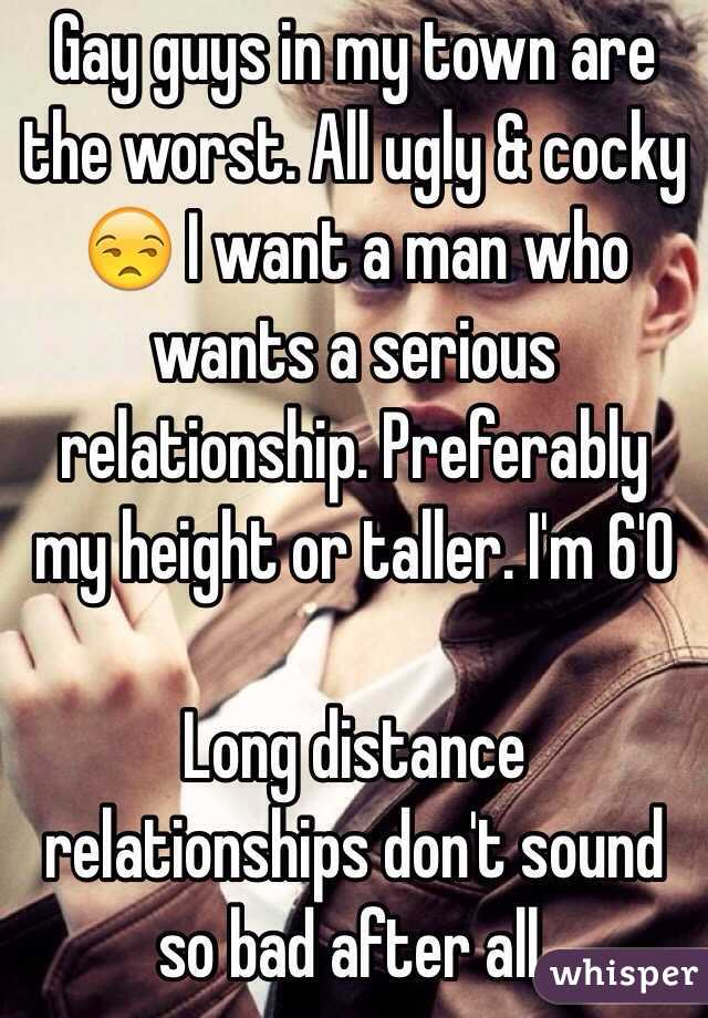 Gay long distance relationship