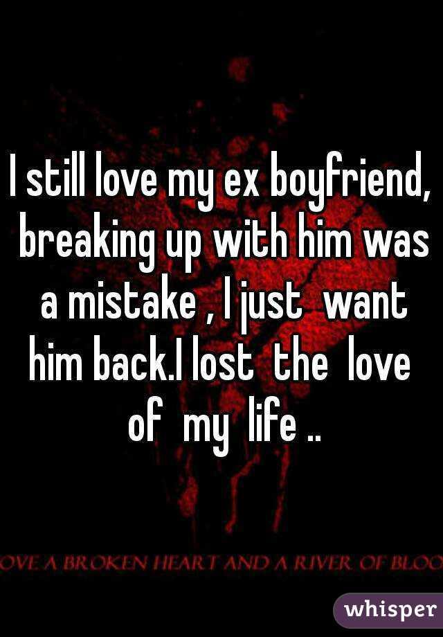 i like my ex boyfriend