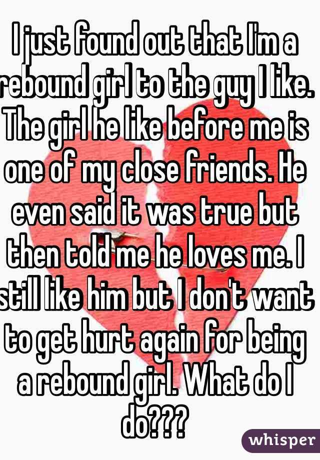 How to get a rebound girl