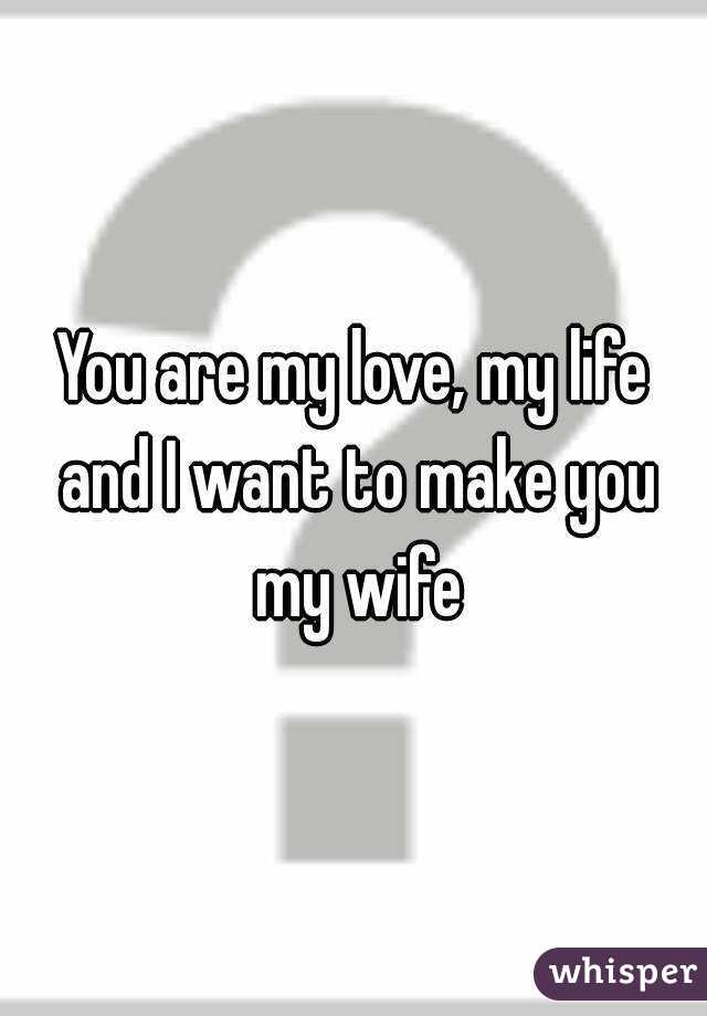 Are you my wife