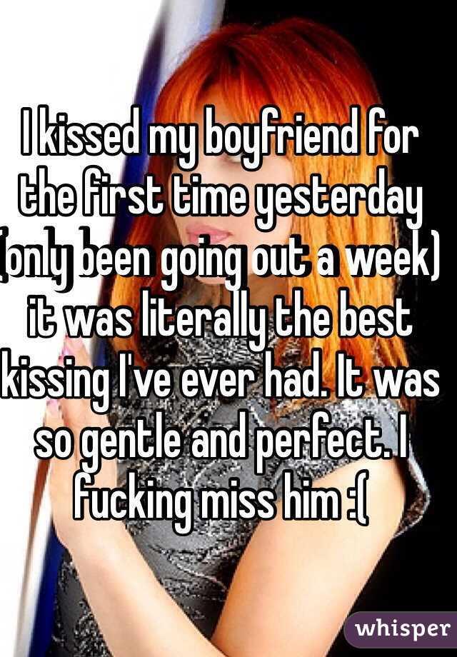 My first time with my boyfriend