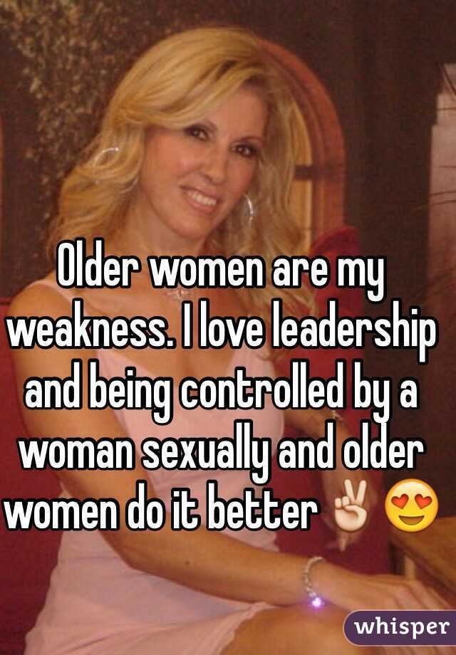Thing Women Older Have A I For
