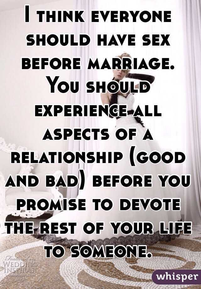 Bad marriage and good sex