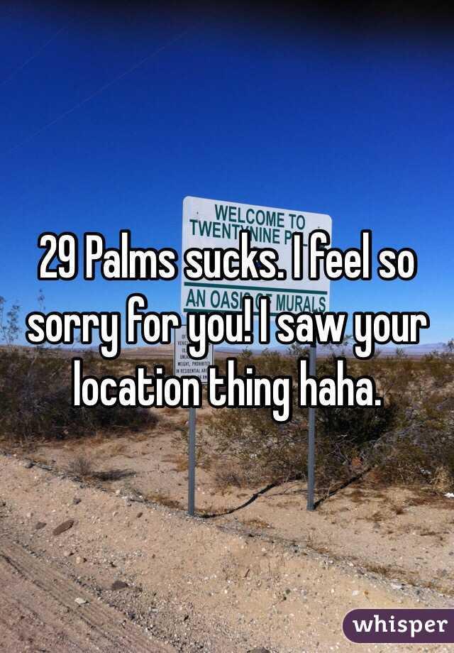 29 palms location