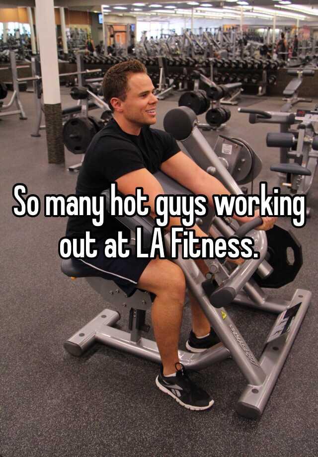 Working at la fitness