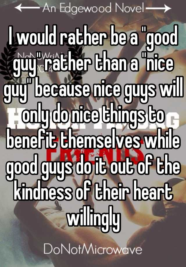 Nice things to do for a guy