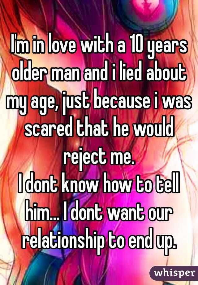 Dating 10 years older man