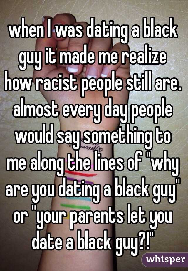 Would you date a black guy