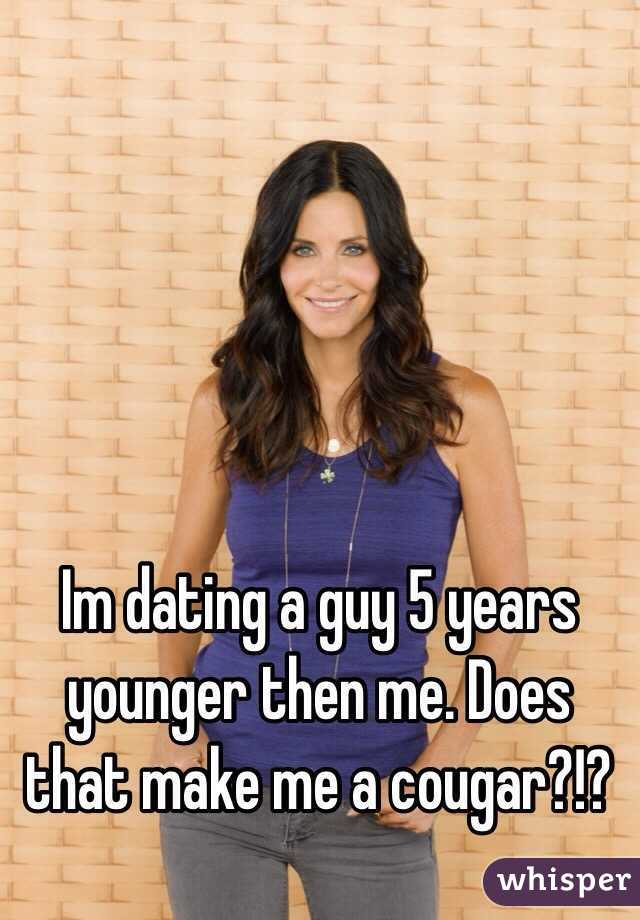 dating someone 5 years younger