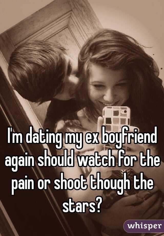 Dating an ex again