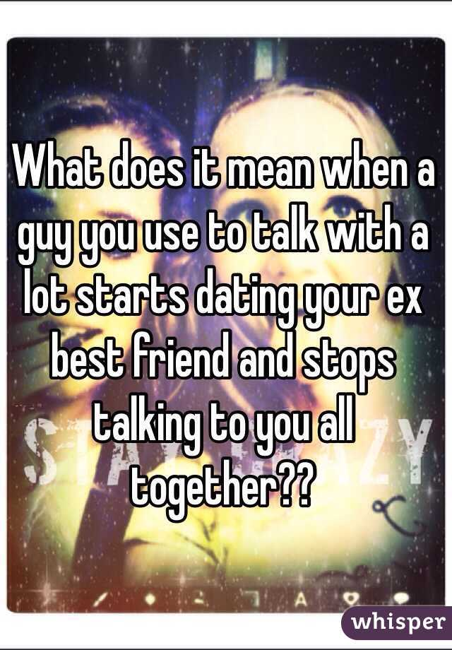 You Talking What To A Guy Does Mean are few minute