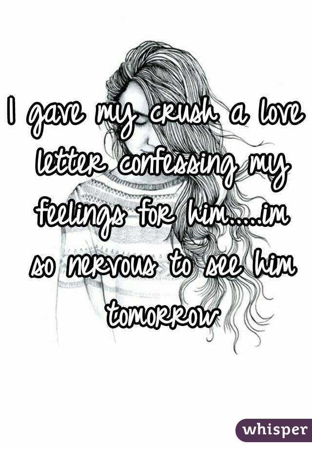 Love letter for a girl crush