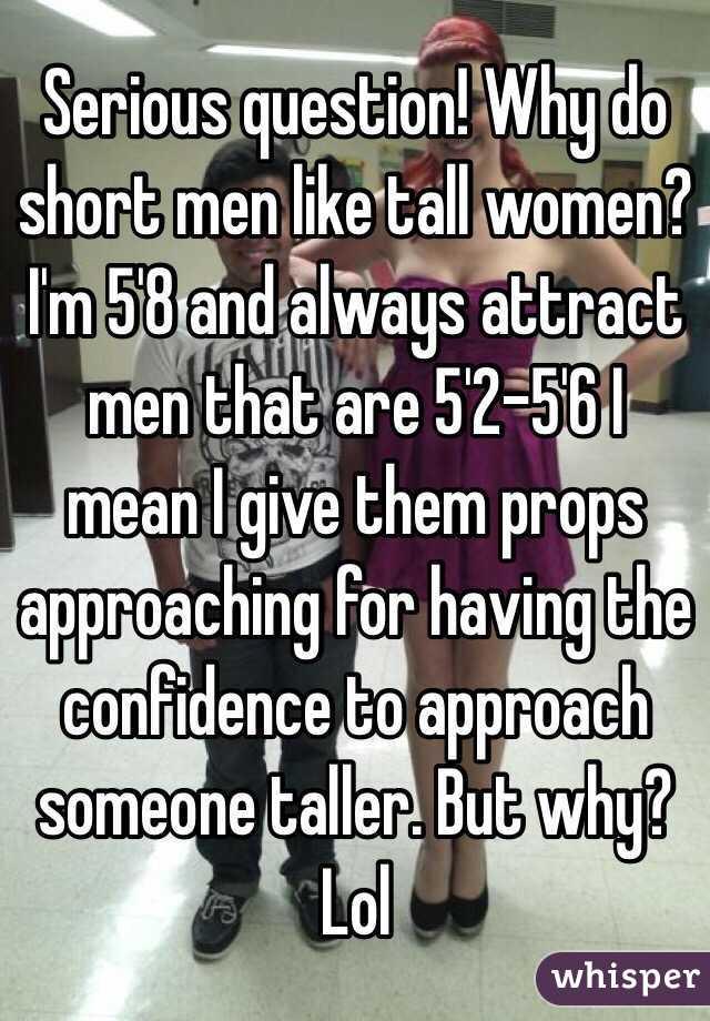women don t like short men