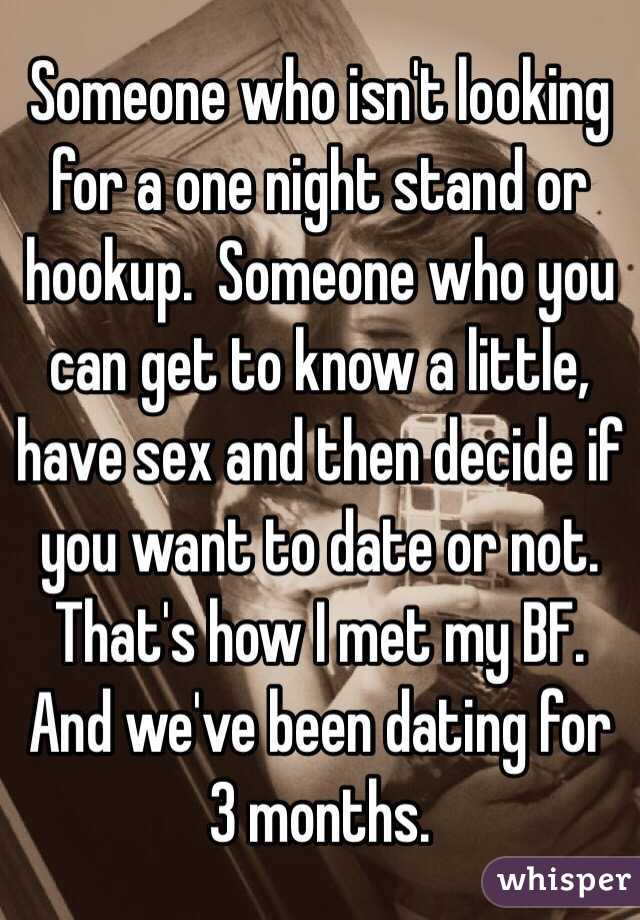 Where should you be at 4 months of hookup