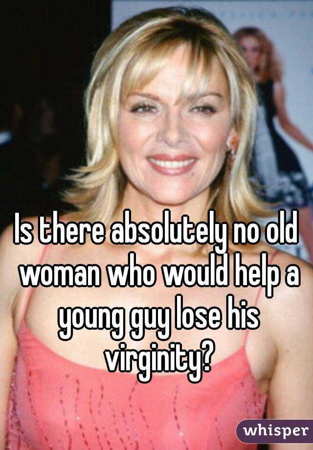 Think, that woman looses virginity rather
