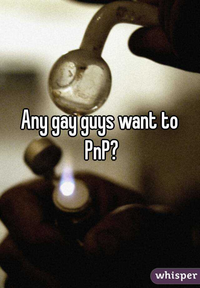 What is gay pnp