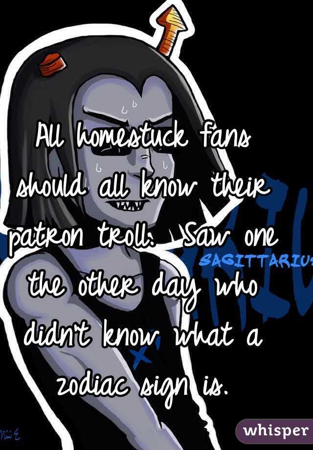 All Homestuck Fans Should Know Their Patron Troll