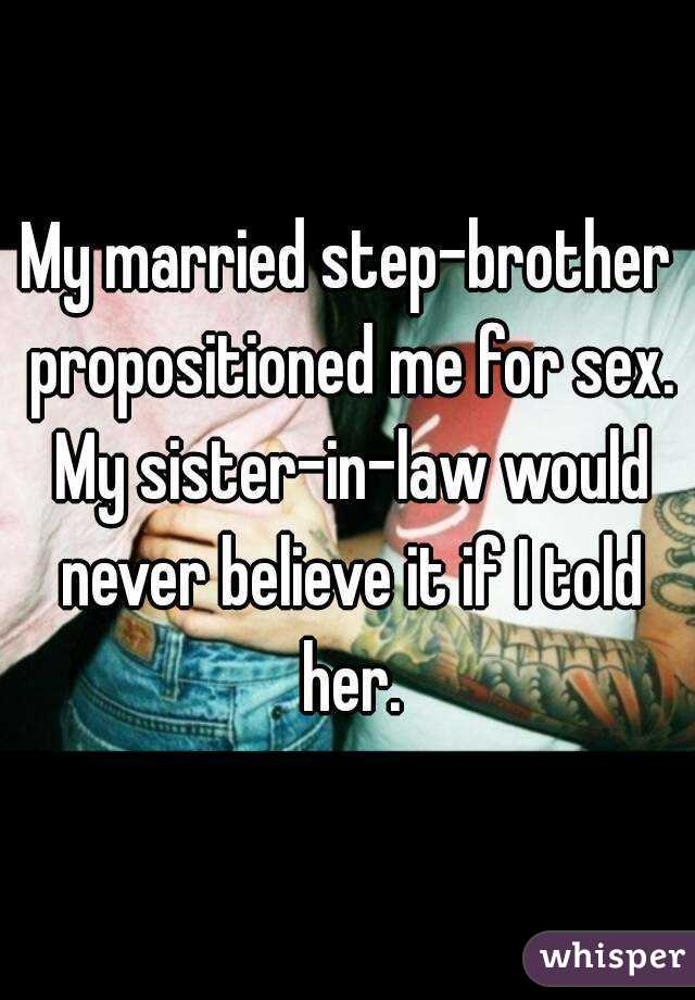 Propositioned for sex law