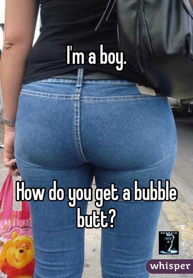 Bubble butt boy pics