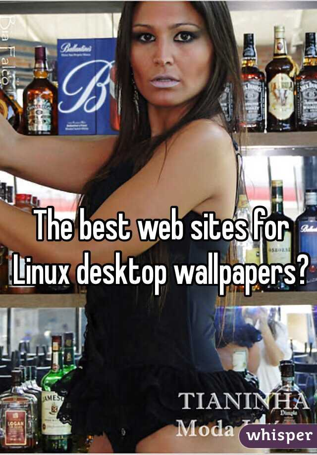 The best web sites for Linux desktop wallpapers?