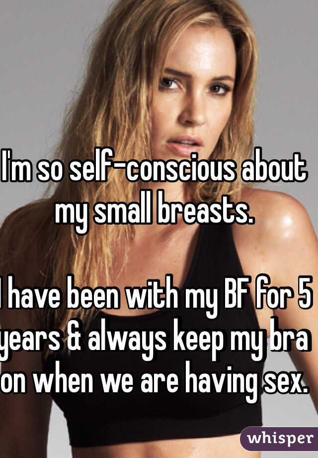 So self conscious i cant have sex with my boyfriend