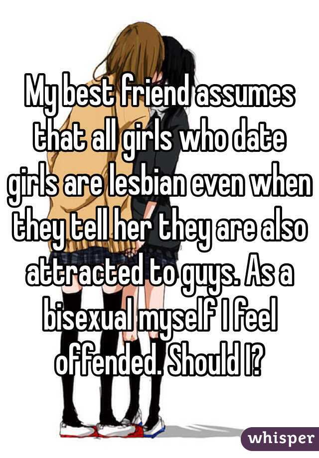 Attracted to my friend lesbian