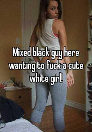 Small Black Girl White Guy