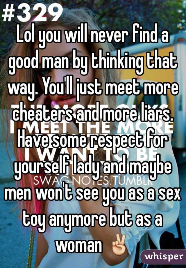 Best way to meet a good man
