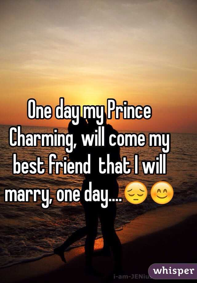 which friend will i marry