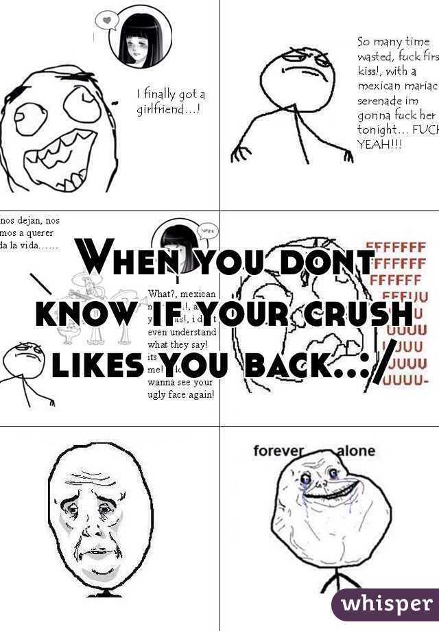How to know your crush likes you back
