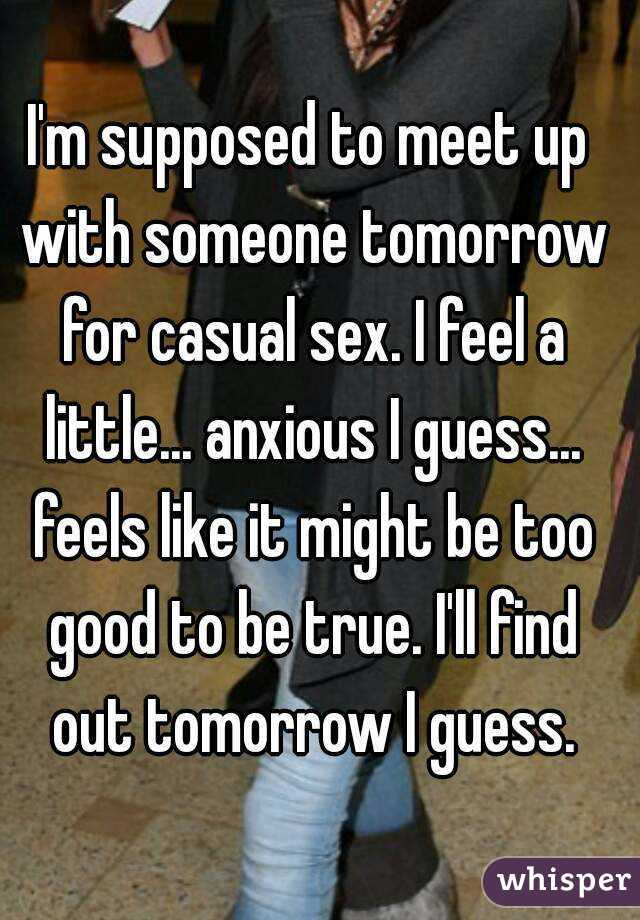 Meet up for casual sex