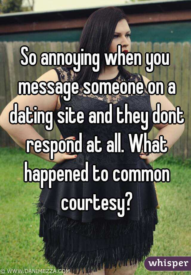 What to message someone on a dating site