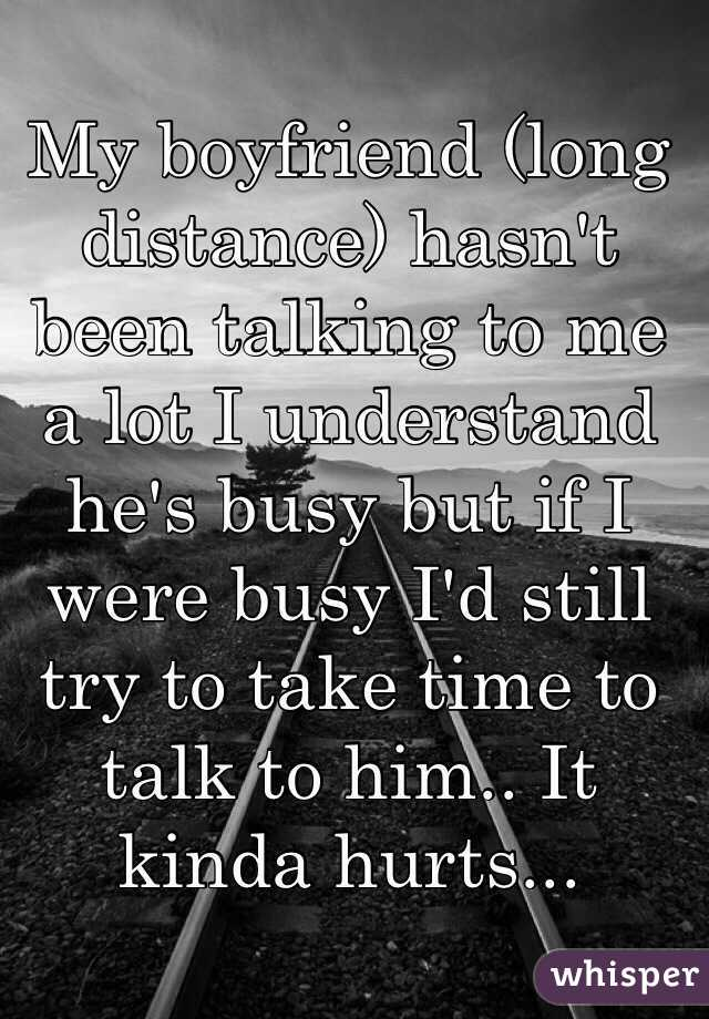 Long Talking To A Distance Guy