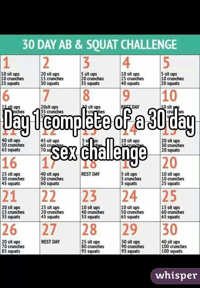 40 day sex challenge for couples