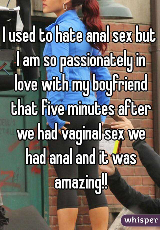 Stories my wife hates anal